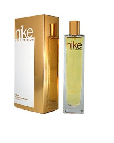 Nike Gold EDT for Women, Gold and White, 100ml