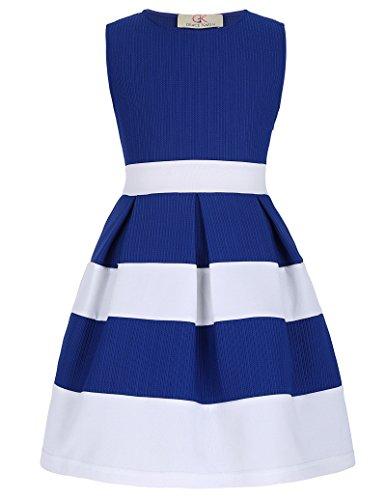 Elegant Maedchen A-Linie Baby Prinzessin Kleid 3-4 Jahre CL8992-2 3 Kleid