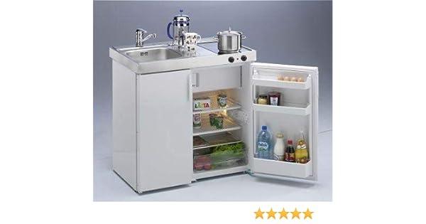 Miniküche Mit Kühlschrank Und Herd 120 Cm : Stengel 2001515 miniküche kitchenline mkc 90 ceran links: amazon.de