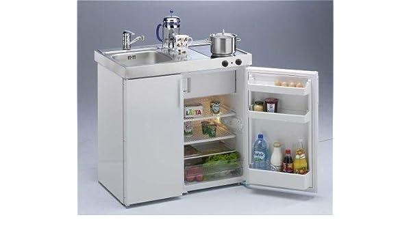 Miniküche Mit Kühlschrank Und Herd 120 Cm : Stengel miniküche kitchenline mkc ceran rechts amazon