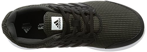 adidas Galaxy 3.1 M, Scarpe da Ginnastica Uomo Nero ( Negbas/Negbas/Neguti)