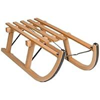 ScSPORTS Davos trineo de madera, madera, 80 cm, 50W0013