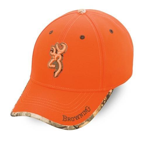 Browning Tapa Gorra, Unisex Adulto, Naranja, Talla Única