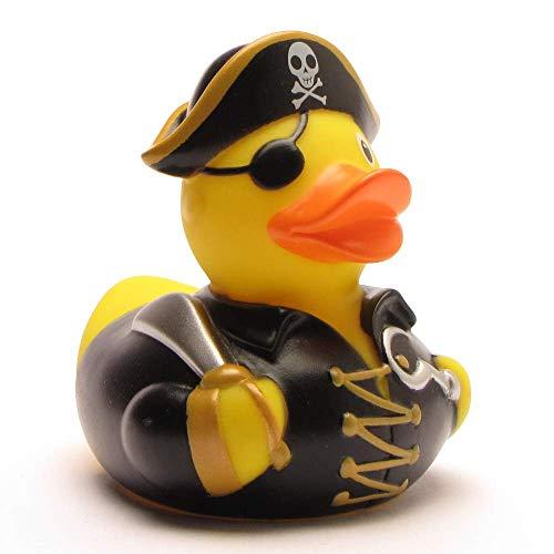 Pato de goma capitán pirata con garfio