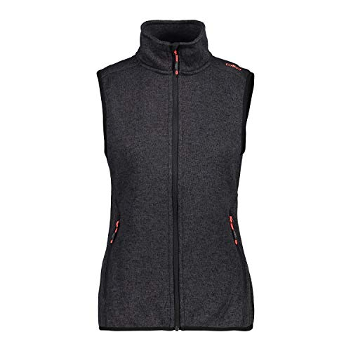CMP Damen Fleece Weste Nero-Antracite 40