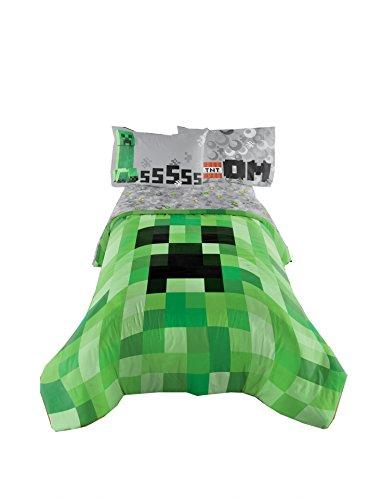 Wildleder Western Tröster (Minecraft Ausgezeichnete entworfen Betten Kinder Komfortable Twin/Full Tröster 182,9x 218,4cm)
