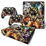 FriendlyTomato DBZ Ensemble de stickers en vinyle pour console Xbox One X et manette...