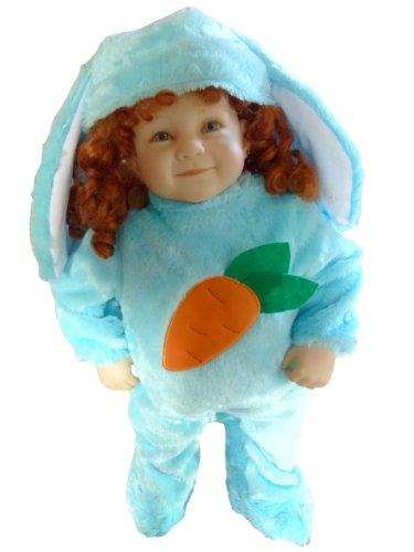 (Hasen-Kostüm, F78 Gr. 68-74, für Babies und Klein-Kinder, Häschen-Kostüm, Hasen-Kostüme Hase Kinder-Kostüme Fasching Karneval, Kinder-Karnevalskostüme, Kinder-Faschingskostüme, Geburtstags-Geschenk)