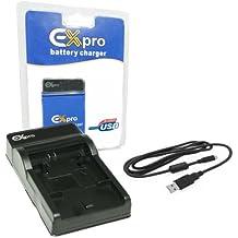 EX-Pro Samsung BP70A BP-70A (Compatible con cargadores LC-E8C y cargador USB Base & Cable only