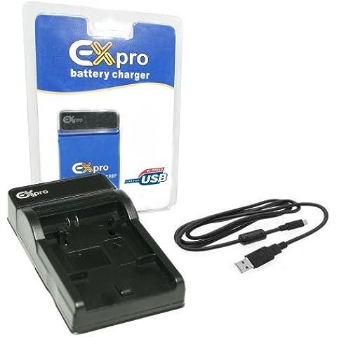 Ex-Pro Sony NP-FR1, BC-NPFR1 CSD EZi-Power-Caricatore USB Base & Cable only