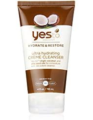Yes To Coconut Ultra Hydrating Creme Cleanser, Brown, 4 Fluid Ounce by Yes to Coconut