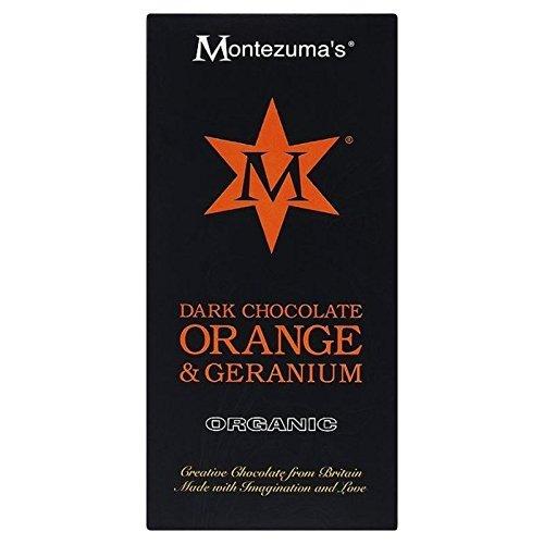 Preisvergleich Produktbild Dunkle Motezuma Mit Orange & Geranie Bar 100G