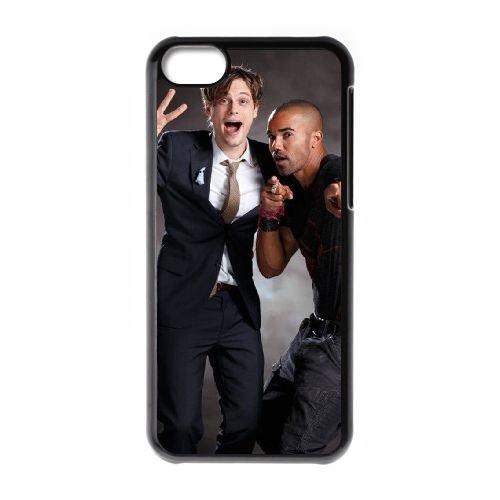 Criminal Minds coque iPhone 5C Housse téléphone Noir de couverture de cas coque EBDXJKNBO16551