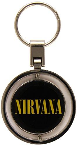Nirvana - Smiley - Spinner Key Chain - Schlüsselanhänger