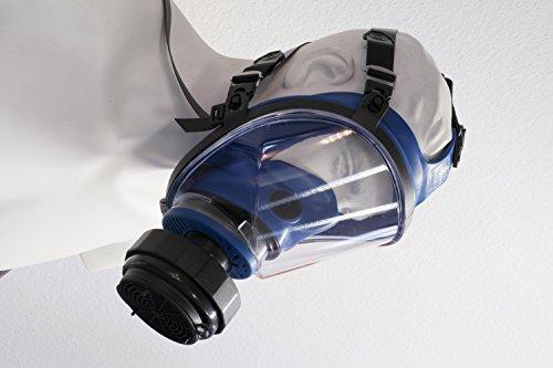 RESTPOSTEN Atemschutzmaske Atemmaske Vollmaske Klasse 2 EN 136 Rundgewindeanschluss Rd40 Normaldruckausführung - 5