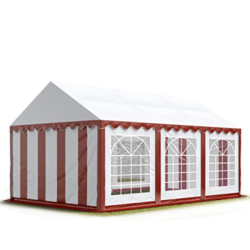 TOOLPORT Partyzelt 4x6 m -Zelt 500g/m² PVC -versch. Farben+Größen-