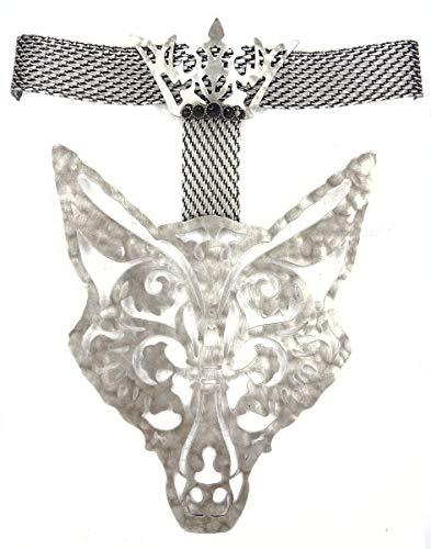 Konplott Halskette/Choker The Fox silver