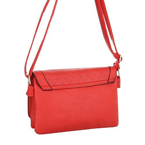 Damen Schultertasche Umhängetasche Schwarz Braun Elfenbein Blau Grau Rot Pink Blau Weiß Gelb Rot