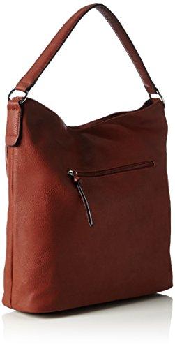 Tamaris - Maila Hobo Bag, Borse a Tracolla Donna Marrone (Braun (cognac 305))