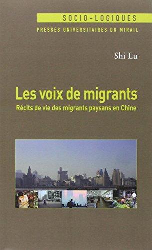 Les voix de migrants : Récirs de vie de...
