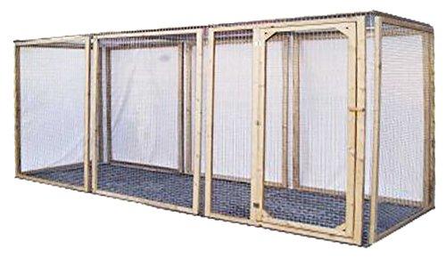 Enclos poule anti-prédateurs hauteur 120 cm made in france Taille 4 mètres