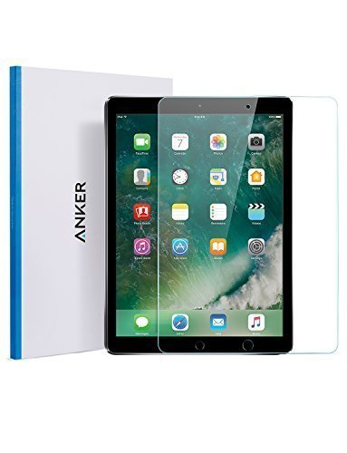 iPad Pro 10.5 Zoll Displayschutz, Anker Doppelter Schutz Premium Hartglas Tablet Schutzfolie mit Retina Display