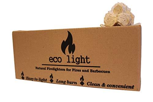 Accendifuoco naturale inodore lunga durata ecologico ecologico grande confezione da 22 kg