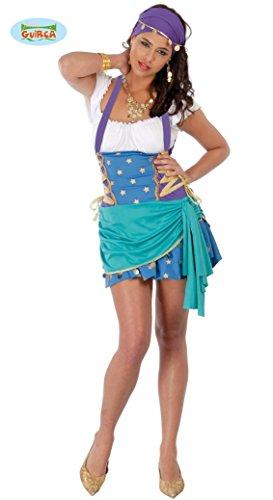 sexy Wahrsagerin - Kostüm für Damen Gr. M/L, Größe:L (Lustig Wahrsagerin Kostüm)