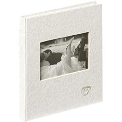 Libro de visitas en color blanco