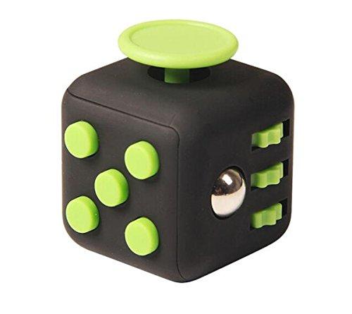 Annein Stresswürfel wie Fidget Cube als perfektes Spielzeug für unterwegs, bei der Arbeit oder im Wartezimmer (A)
