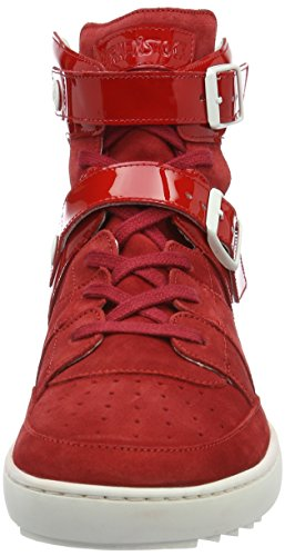 Birkenstock - Thessaloniki, Pantofole a Stivaletto Donna rosso (rosso)