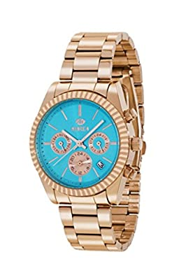 Reloj Marea Mujer B41155/11 Metal Rosado Multifunción Azul