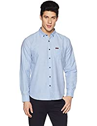 Symbol Amazon Brand Men's Slim Fit Casual Shirt
