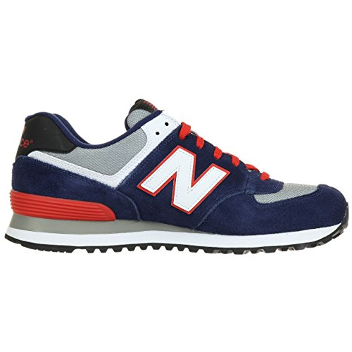 New Balance ML574 D Herren Low-Top Sneakers navy-red-white (ML574CPM)