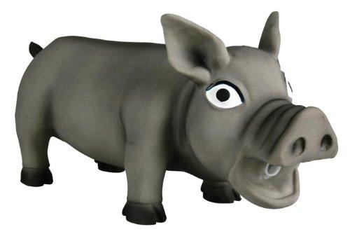 Trixie 35496 Schwein, Original-Tierstimme, Latex, 32 cm