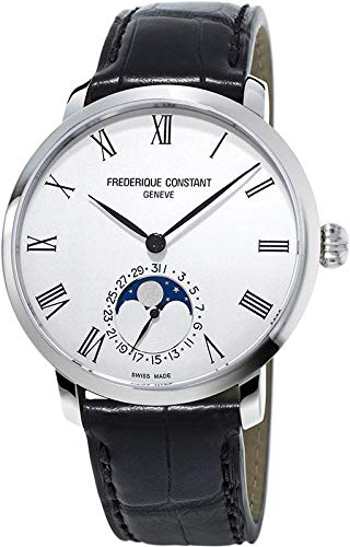 Frederique Constant Geneve Slimline Moonphase Manufacture FC-705WR4S6 Reloj Automático para Hombres