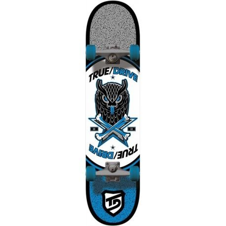 True Drive Animal Skateboard Bleu