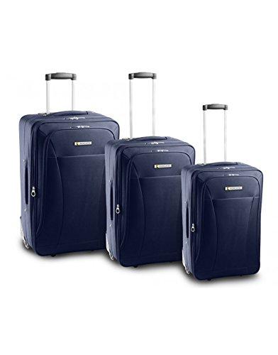 set-3-trolley-roncato-queen-2-ruote-leggeri-nero-blu-rosso-blu