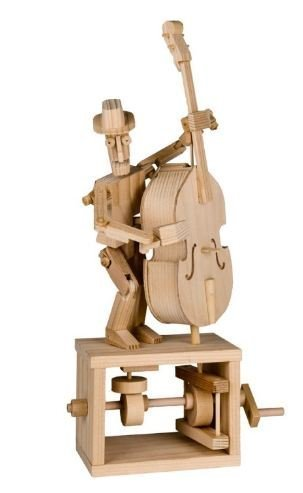 Timberkits - Double Bass - Wooden Model Kit