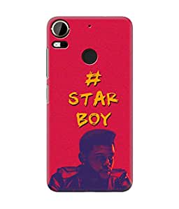 Be Awara Starboy The Weekend Printed Back Case Cover for HTC Desire 10 Pro
