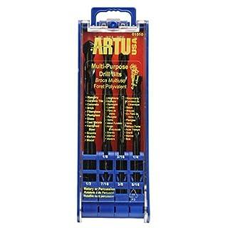 ARTU USA 01510 7-Piece Multi Purpose Drill Bit Set by Artu USA