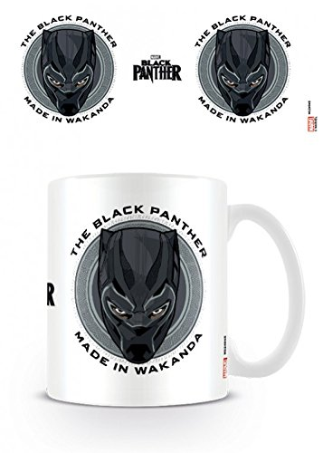Set: Black Panther, Made In Wakanda Taza Foto 9x8