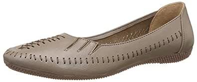 Catwalk Women's Beige Leather Fashion Sandals - 4 UK/India (36 EU) (1983F)