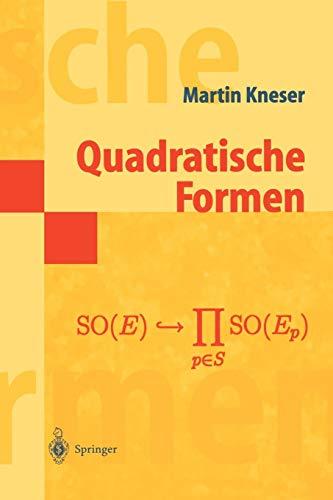 Quadratische Formen (Masterclass)