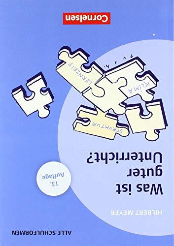 Praxisbuch: Was ist guter Unterricht? Mit didaktischer Landkarte