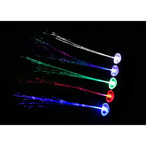 fome-set-of-6-led-hair-extentions-clip-pony-tail-led-fiber-optic-light-up-rainbow-hair-barrette-part