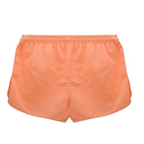 La vogue Unisex Badeshorts Badehose sporthose kurz Orange