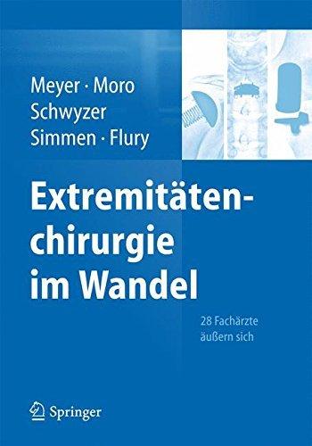 Extremitätenchirurgie im Wandel: 28 Fachärzte äußern sich (2014-12-17)