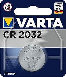 Varta CR2032 Lithium Knopfzelle 3V Batterie in Original Blisterverpackung, 1er Pack
