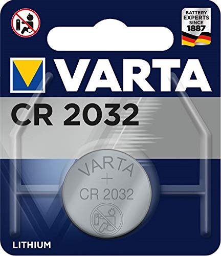 VARTA Professional CR2032 Lithium-Batterie 3Volt Typ CR 2032 (1er Pack) 1 Batterie 3v